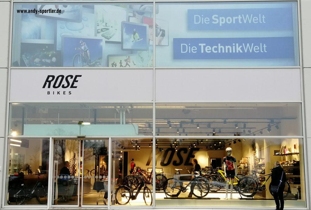 Der neue Rose Bike Store Dodenhof bei Posthausen
