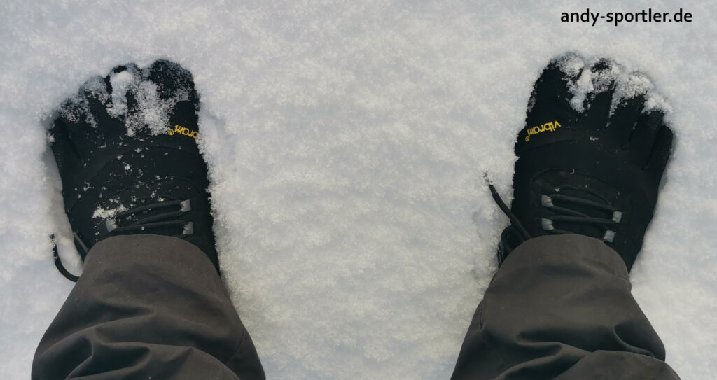 Vibram Trek Ascen insulated im Schnee